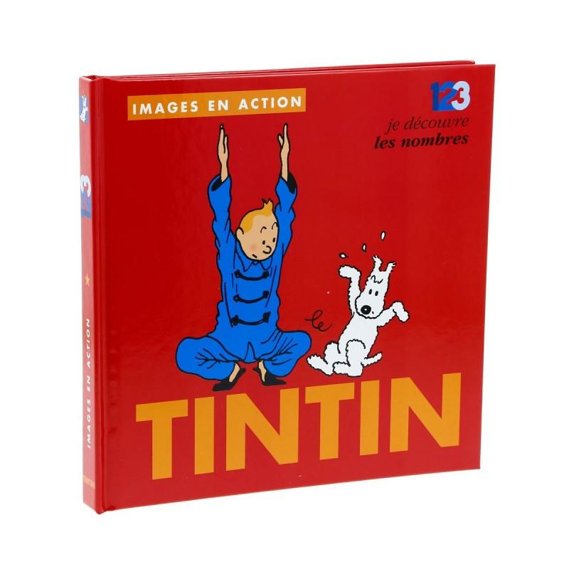 Livre Moulinsart Tintin - Images en action : je découvre les nombres
