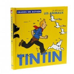 Livre Moulinsart Tintin - Images en action : je découvre les animaux