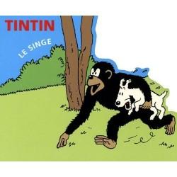 Livre Moulinsart Tintin -  Tintin Le Singe