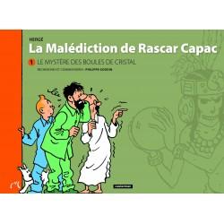 Livre Moulinsart Tintin - La malédiction de Rascar Capac 1 : Le mystère des Boules de Cristal