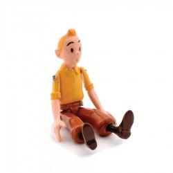 Pixi Moulinsart Tintin - Articulée - Tintin chemise jaune