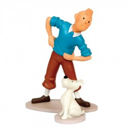 Leblon Moulinsart Tintin - Tintin et Milou gymnastique