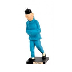 Leblon Moulinsart Tintin - Tintin Lotus Bleu (15cm)
