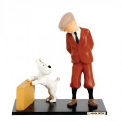 Leblon Moulinsart Tintin - Tintin et Milou Valise Oreille Cassée (15cm)
