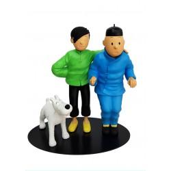Leblon Moulinsart - Tintin et Tchang La Fraternité