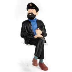 Leblon Moulinsart Tintin - Haddock assis banc