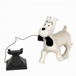 Leblon Moulinsart Tintin - Milou téléphone