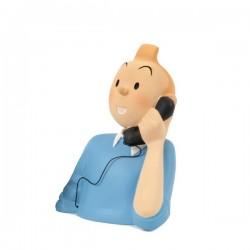 Leblon Moulinsart Tintin - Buste Tintin téléphone