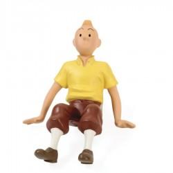 Leblon Moulinsart Tintin - Tintin assis chemise jaune
