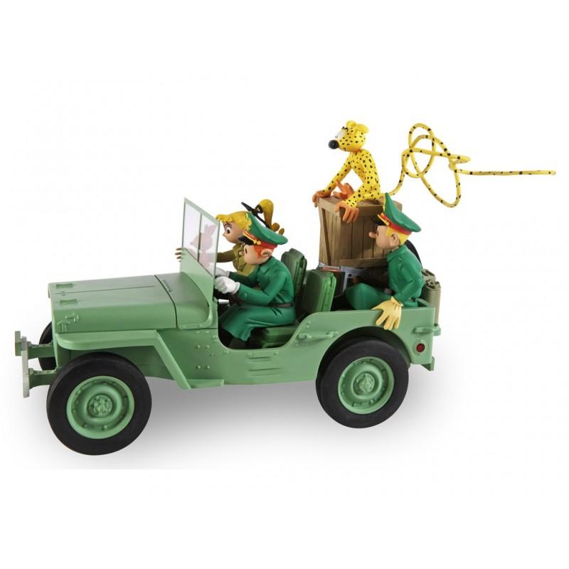 "Véhicule Franquin Spirou - ""Garage de Franquin"" Jeep Wyllis MB"