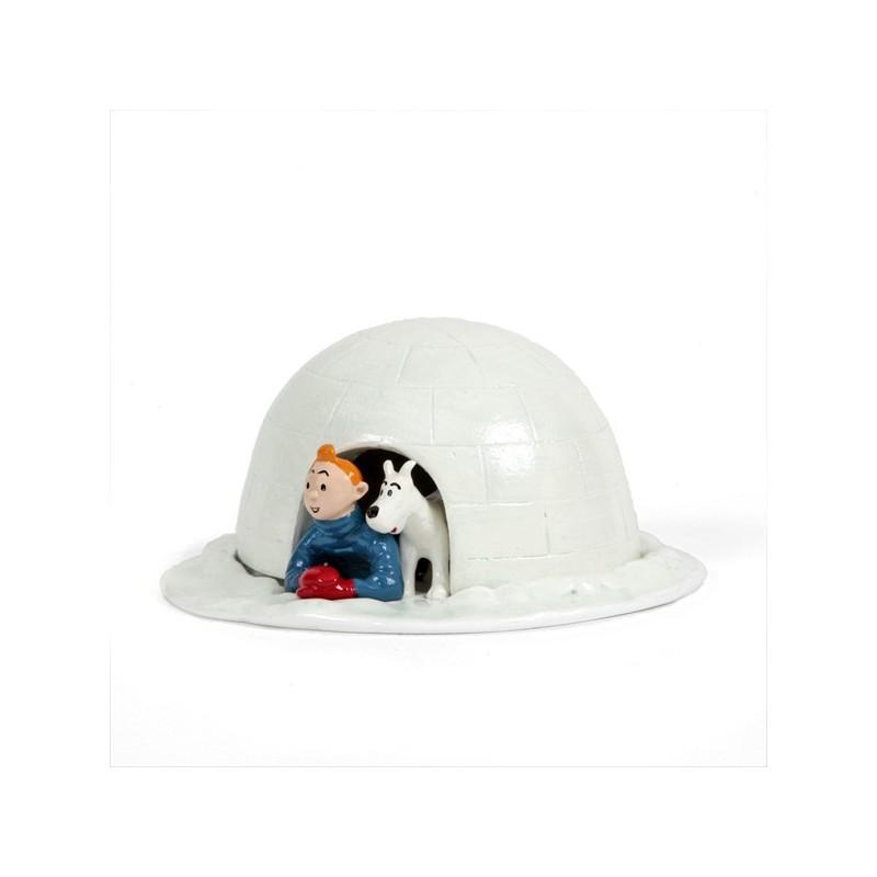 Pixi Moulinsart Tintin - Collection Classique - Tintin et Milou Igloo