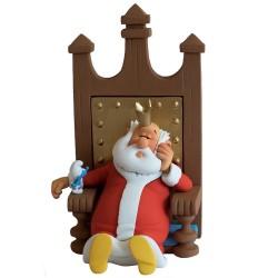 Fariboles Peyo Schtroumpfs - Le roi sur son trône