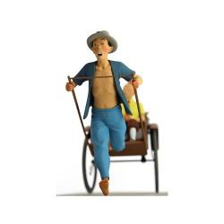 Fariboles Moulinsart Tintin - Tintin et Milou dans le pousse pousse