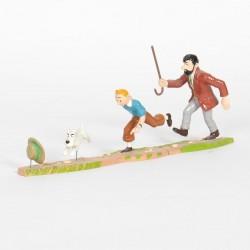 Pixi Moulinsart Tintin - Coll. Classique - Puzzle poursuite