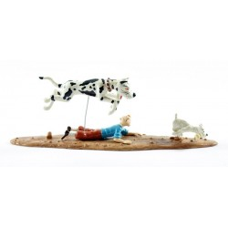Pixi Moulinsart Tintin - Collection Classique - Danois poursuit Tintin