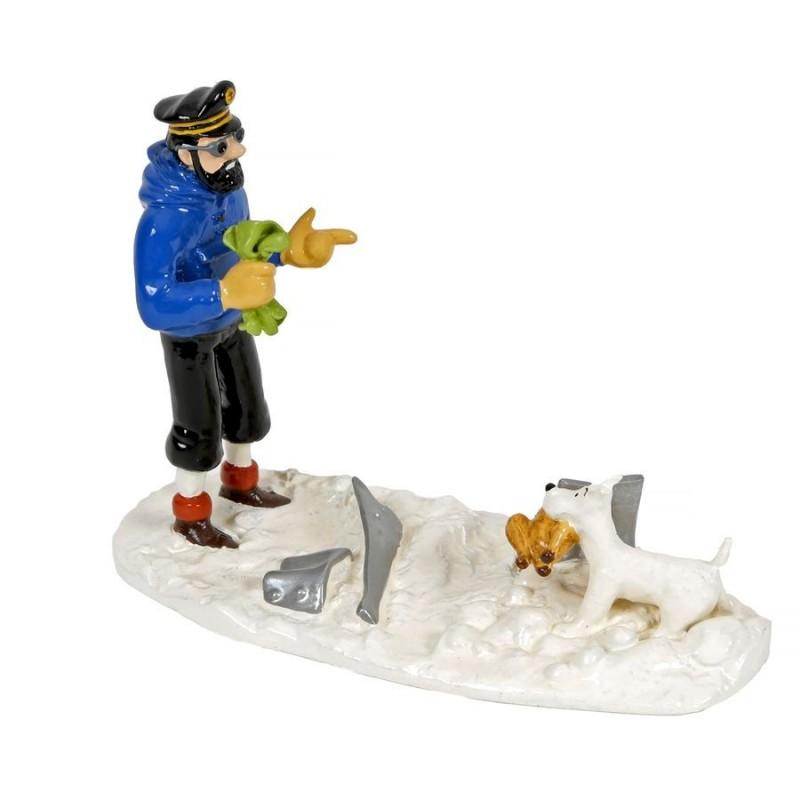 Pixi Moulinsart Tintin - Collection Classique - Haddock et Milou poulet