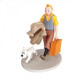 Figurine Moulinsart Tintin - Tintin et Milou en route (Japon)