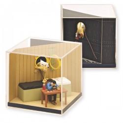 Figurine Moulinsart Tintin - Coffret Tintin découvre Haddock