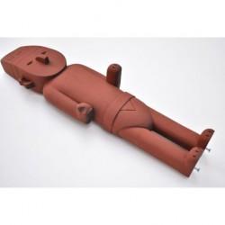 Figurine Moulinsart Tintin - Fétiche Arumbaya 52 cm