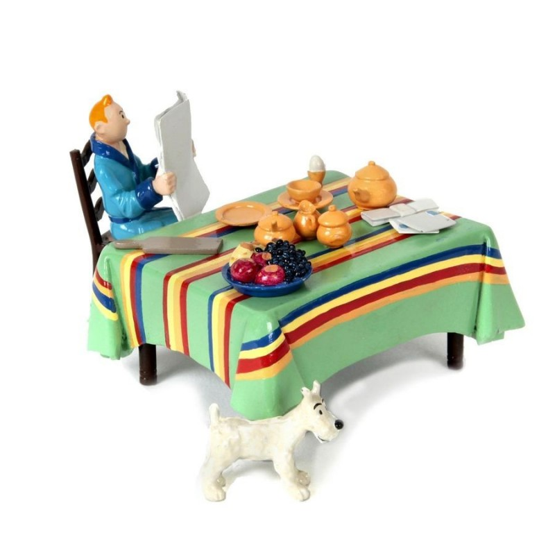Pixi Moulinsart Tintin - Collection Classique - Tintin petit déjeuner