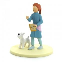 Figurine Moulinsart Tintin - Diorama Tintin en turban