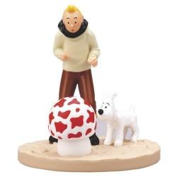 Figurine Moulinsart Tintin - Diorama Tintin aviateur
