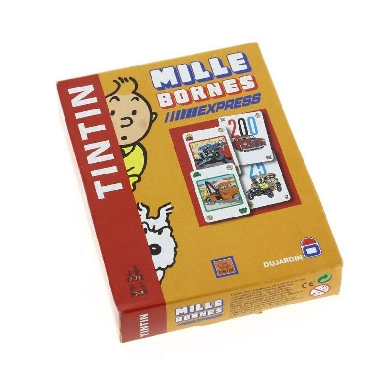 Jeu Moulinsart Tintin - Jeu des 1000 bornes Express (édition Voyage)