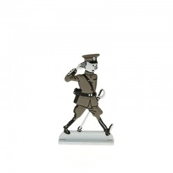 Relief Moulinsart Tintin - Fig 41 Tintin colonel Oreille cassée (N&B)