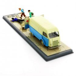 Voiture Moulinsart Tintin - Ambulance de la base (Coll. Transport)