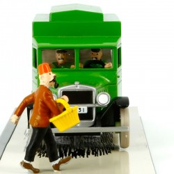 Voiture Moulinsart Tintin - Fourgon cellulaire (Coll. Transport)
