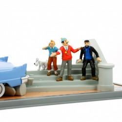 Voiture Moulinsart Tintin -Cadillac Eldorado (Coll. Transport)