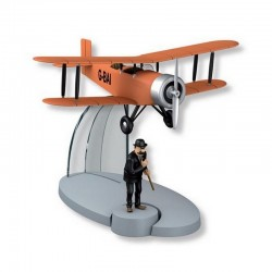 Avion Moulinsart Tintin - Fig 28 Biplan d'acrobaties G BAI + Dupont