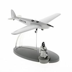 Avion Moulinsart Tintin - Fig 47 Avion police berlinoise soviet + Tintin