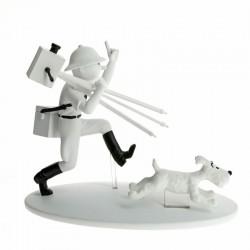 Figurine Moulinsart Tintin - Hors série 4 Tintin cinéaste Congo