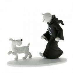 Figurine Moulinsart Tintin - Hors série 5 Tintin en toge Cigares