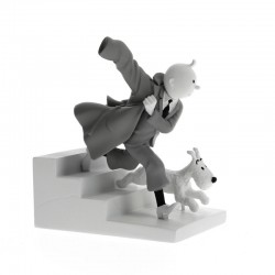 Figurine Moulinsart Tintin - Hors série 6 Tintin en action Oreille cassée