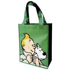 Bagagerie Moulinsart Tintin - Sac semi-imperméable vert PM