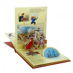 Livre Moulinsart - Pop-up Le Secret de la Licorne