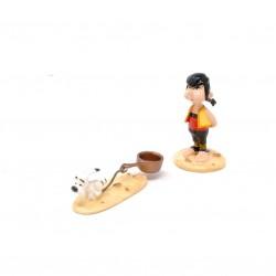 Pixi Uderzo Astérix - Pépé et Idéfix traînant sa casserole
