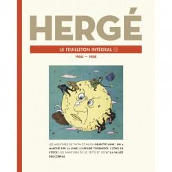 Livre Moulinsart Tintin - Hergé : Le feuilleton intégrale volume 11 1950-1958