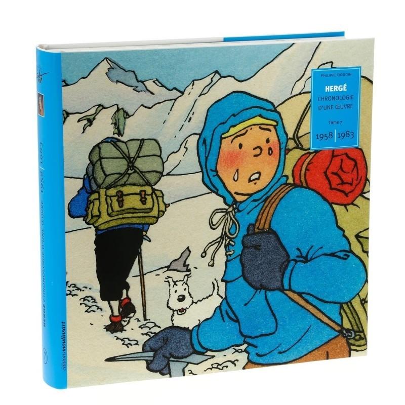 Livre Moulinsart - Hergé : Chronologie d'une Oeuvre Tome 7 1958-1983