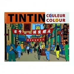 Papeterie Moulinsart Tintin - Livre de coloriages (couverture orange)