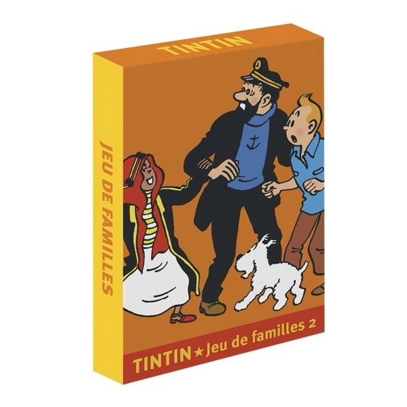 "Jeu Moulinsart Tintin - Familles ""Histoires & Personnages"" 2"
