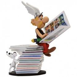 Collectoys Uderzo Astérix - Astérix Pile de Livres (Version 1)