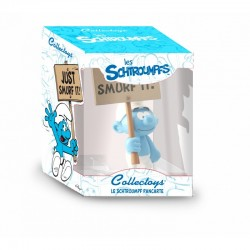 "Collectoys Peyo Schtroumpfs - Schtroumpf pancarte ""Just Smurf It"""