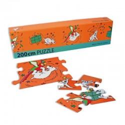 Puzzle Moulinsart Tintin - Frise Milou (52 pièces)