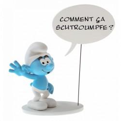 Collectoys Peyo Schtroumpf - Coll. Bulles - Schtroumpf