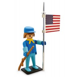 Collectoys Playmobil Vintage - Le Soldat Américain