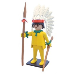 Collectoys Playmobil Vintage - Le Chef Indien