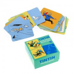 Jeu Moulinsart Tintin - Cartes de mémoire (Action)